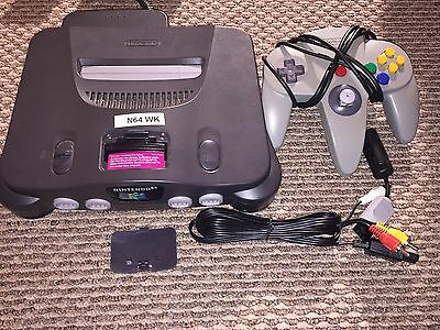 Nintendo 64 N64 Console With Wires & Controller Bundle (N64*1)