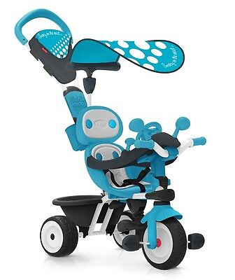 Smoby Baby Driver Confort Blue, Childrens Trikes, Ride on Toys