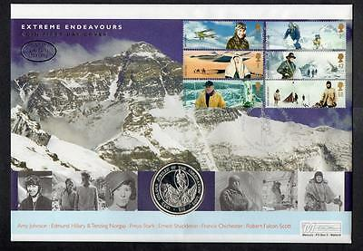 GB 2003 Extreme Endeavours Silver Coin Cover