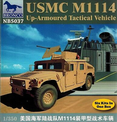 Bronco Models - NB 5037 - USMC M1114 Up Armoured Tactical Vehicle - 1:350