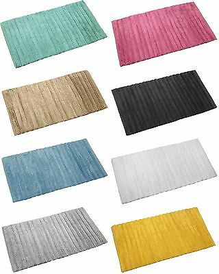 Burma Luxury 100% Cotton Bath Mat Shower Bath Mat Plush Absorbant Bathroom Mat