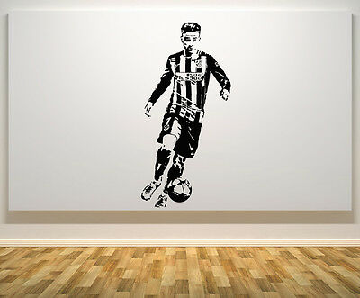 Antoine Griezmann Atletico Madrid Football Player Decal Wall Art Sticker Picture