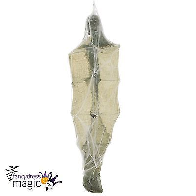Animated Light Up Moving & Sound Hanging Cocoon Halloween Party Prop Decoration