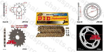DID- Gold X Ring JT Sprocket Chain Kit fits Yamaha FZS600 SP Fazer 00-01