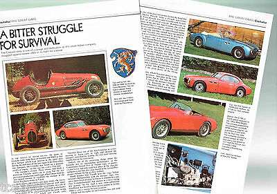 CISITALIA History Article / Photos / Pictures: 202,D46,