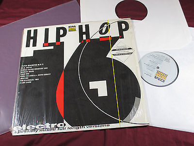 various  HIP HOP ELECTRO 16  -  LP Street Sounds ELCST 16 sehr gut