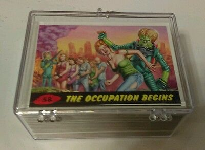 MARS ATTACKS topps '12 HERITAGE invasion  58-CARD  SET