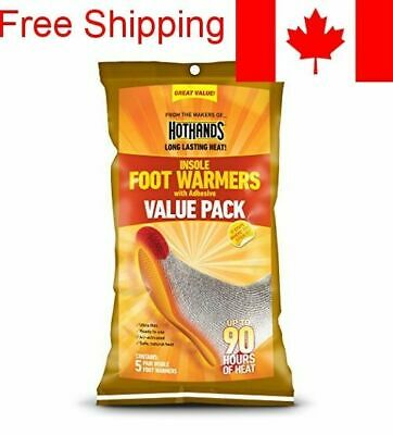 HotHands Insole Foot Warmer Value Pack (5-Pair) - 10 pieces