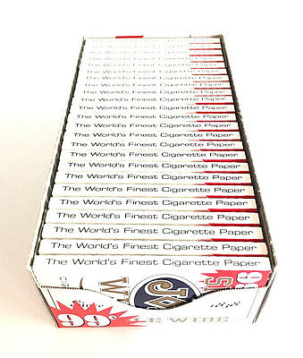 JOB Cigarette rolling papers Single Wide 24 Booklets 32 Leaves Wholesale USA