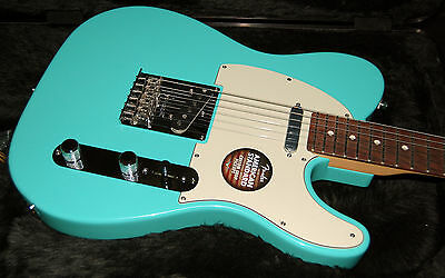 Fender American Standard Limited Edition Telecaster Seafoam Green Matching PegH