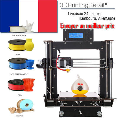 Duty free! - CTC  Prusa I3 Pro  DIY imprimante 3D  LCD MK8 printer  ABS PLA WOOD