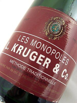 2008 circa NV L KRUGER & CO Les Monopoles Sparkling Wine B Isle of Wine