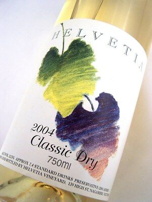 2004 HELVETIA Classic Dry White Blend A Isle of Wine • AUD 14.95