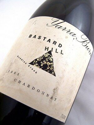 1995 YARRA BURN Vineyards Bastard Hill Chardonnay Isle of Wine