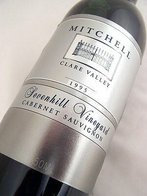1995 MITCHELL WINERY Sevenhill Vineyard Cabernet Isle of Wine