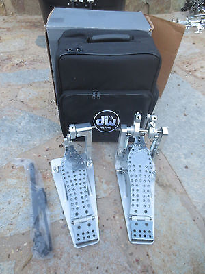 DW MACHINED MDD2 Direct Drive Double Bass Drum Pedal w/Bag GENTLY USED