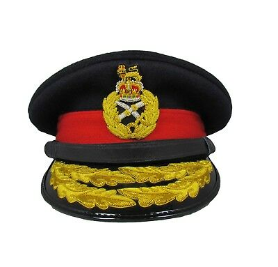 Cap Dress Cap Forage cap Officer. Hat General's Military Army Hat R1693