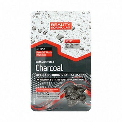 **  Beauty Formulas Charcoal Deep Absorbing Facial  Mask New ** Peel Off