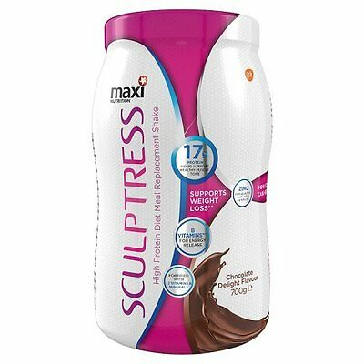 Maxitone Sculptress Diet Weight Loss System Shake Powder - Chocolate, 700 g