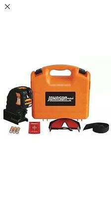 "2-1/2"" Line/Dot Laser Level, Johnson, 40-6683"
