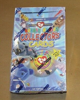 New TY Beanie Babies Collector Trading Cards 1st Edition Series 2 Sealed Box