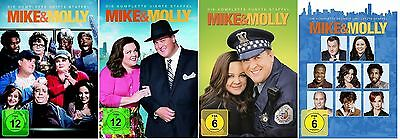 Mike & Molly - Season / Staffel 3-6 DVD Set * NEU OVP *(and,und) inkl. Staffel 6