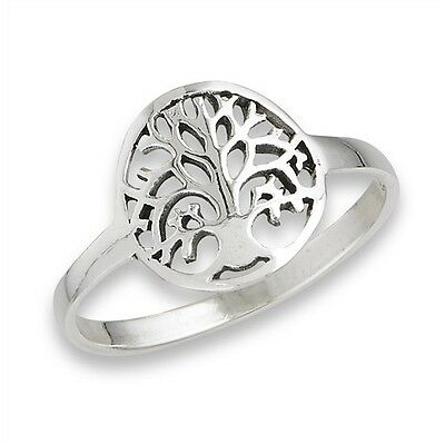 Petite TREE OF LIFE Ring Celtic Sterling Silver Jewelry 925 Size 4-9