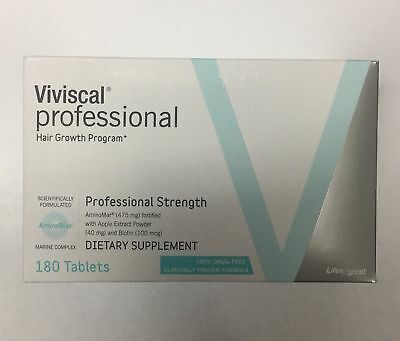 GENUINE Viviscal Professional Hair Growth 3 months supply 180 Tablets 2021 EXP