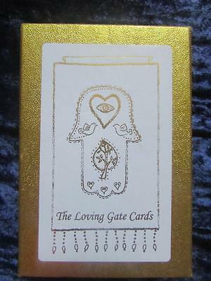 RARE - THE LOVING GATE CARDS. Cards, Casette, Scrol. Spiritual Uplifting Special