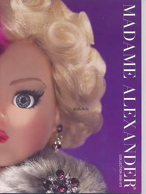 2005 Madame Alexander Catalog Doll Reference 116 Color pages Cissy Coquette New