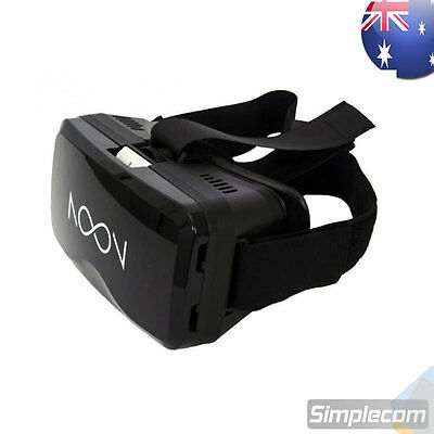 NOON VR Virtual Reality Headset 3D VR Glasses Games iPhone IOS ANDROID