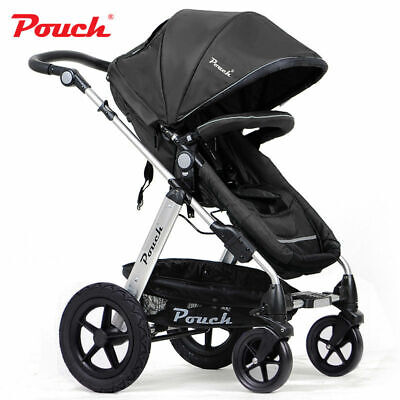 2 In 1 Baby Toddler Pram Stroller Jogger Aluminium With Bassinet 5 Colors!!