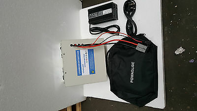 Lithium  65Ah 24 Volt Battery With Charger Lifep04