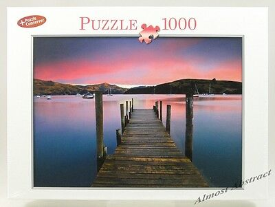 Wooden Jetty at Sunset, 1000 Piece Jigsaw Puzzle ~ New