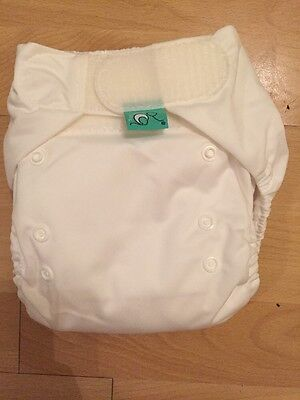 TotsBots Easyfit Nappy (white) *Brand New Never Used*