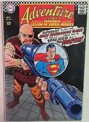 DC Comics - Adventure Comics - Issue #358 - Silver Age Superboy - 1960s