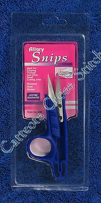 Snip Scissors Blue Cross Stitch Embroidery Knitting Sewing Quilting Stainless