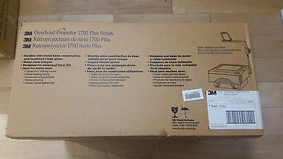 NEW 3M 1700 Plus Series Overhead Projector  NEW IN BOX!