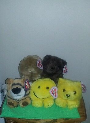 Puffkins lot of 5 all with tags Swibco