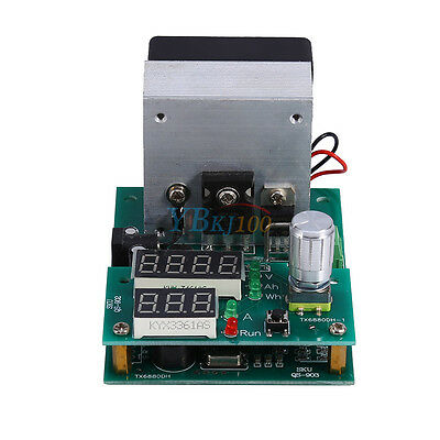 Constant Current Electronic Discharge 9.99A 60W Battery Capacity Tester High Q