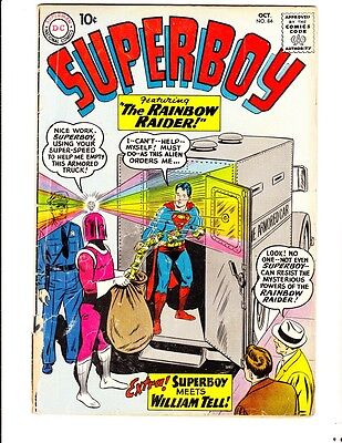 Superboy 84 (1960): FREE to combine- in Fair/Good condition
