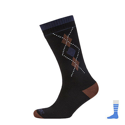 Sealskinz Mid Weight Mid Length Waterproof Breathable Windproof Socks- Sea Eagle