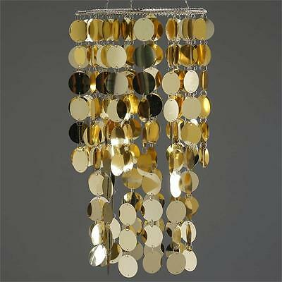 """GOLD METALIC 18"""" tall Shiny Chandelier Wedding Party Event Decorations SALE"""