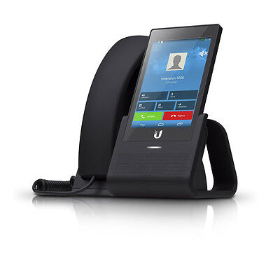 """Ubiquiti UVP UniFi VoIP Phone with 5"""" HD LCD Touchscreen and Android"""