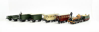 Trix Ho 21224 Wurttemberg 1859 Train Set + 2 Additional Marklin Wagons (T11)