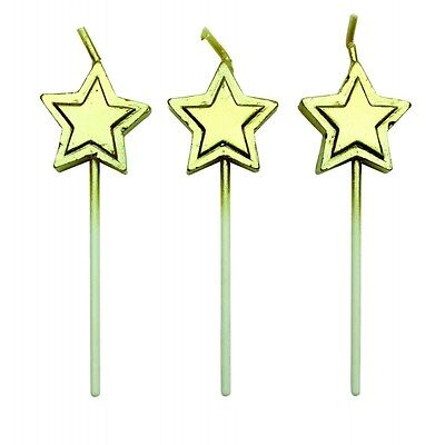 Gold Star Candles - Set of 8 - PME