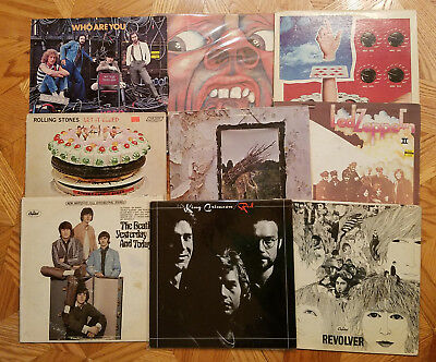 Alternative Rock, Punk, Noise, Industrial  Record LP Lot Of 4 You Pick!