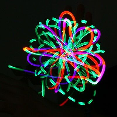 4 LED Orbit Candy Flow Dancing Windmill Light-Up Flashing Rave Toy Kids Adults
