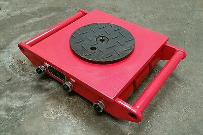 12 Ton heavy machine dolly skate machinery roller mover 8 wheels