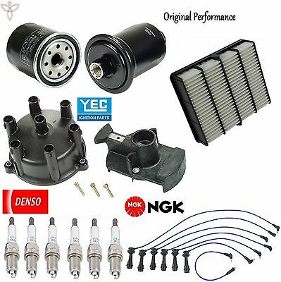 Tune Up Kit Filter Cap Rotor Spark Plugs for Lexus SC300 1992 1995-1997